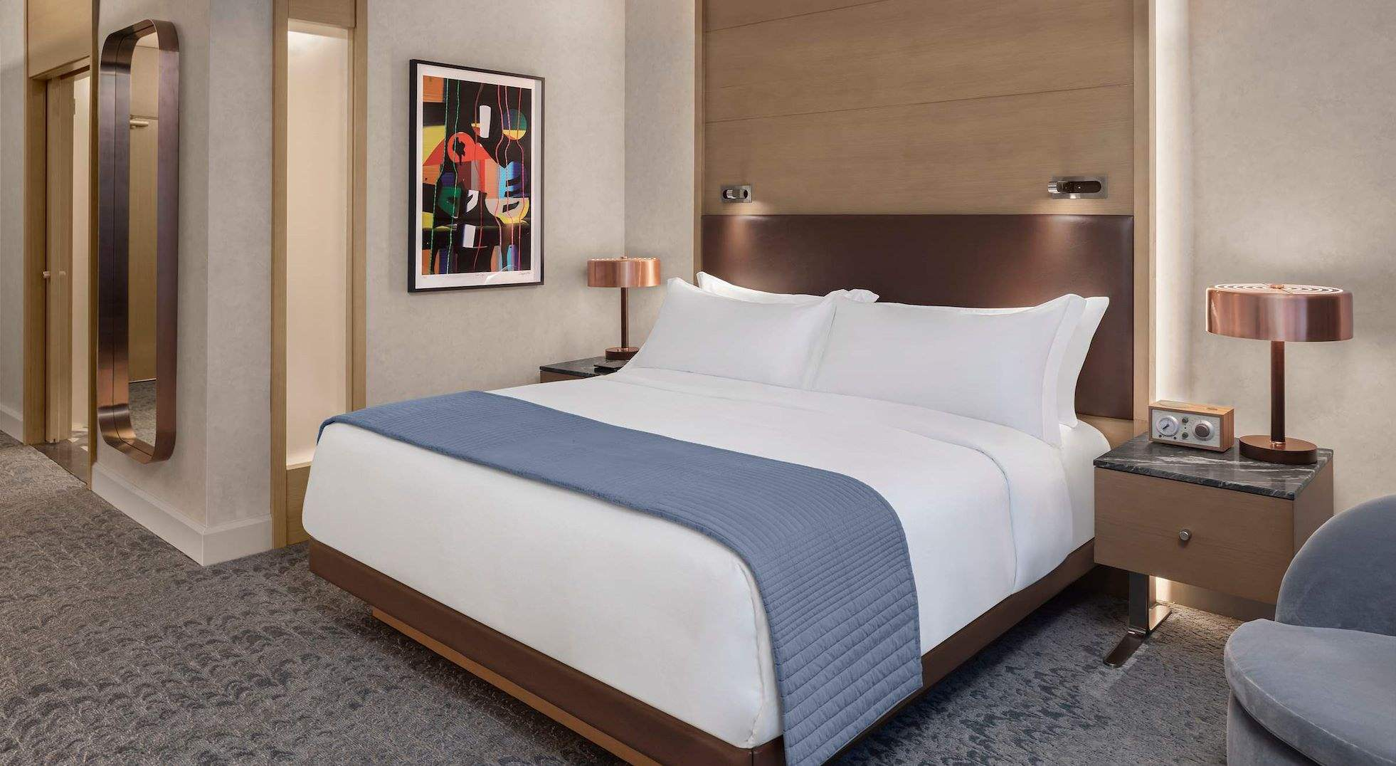 Deluxe King Guest Room at The Joseph Hotel, Nashville