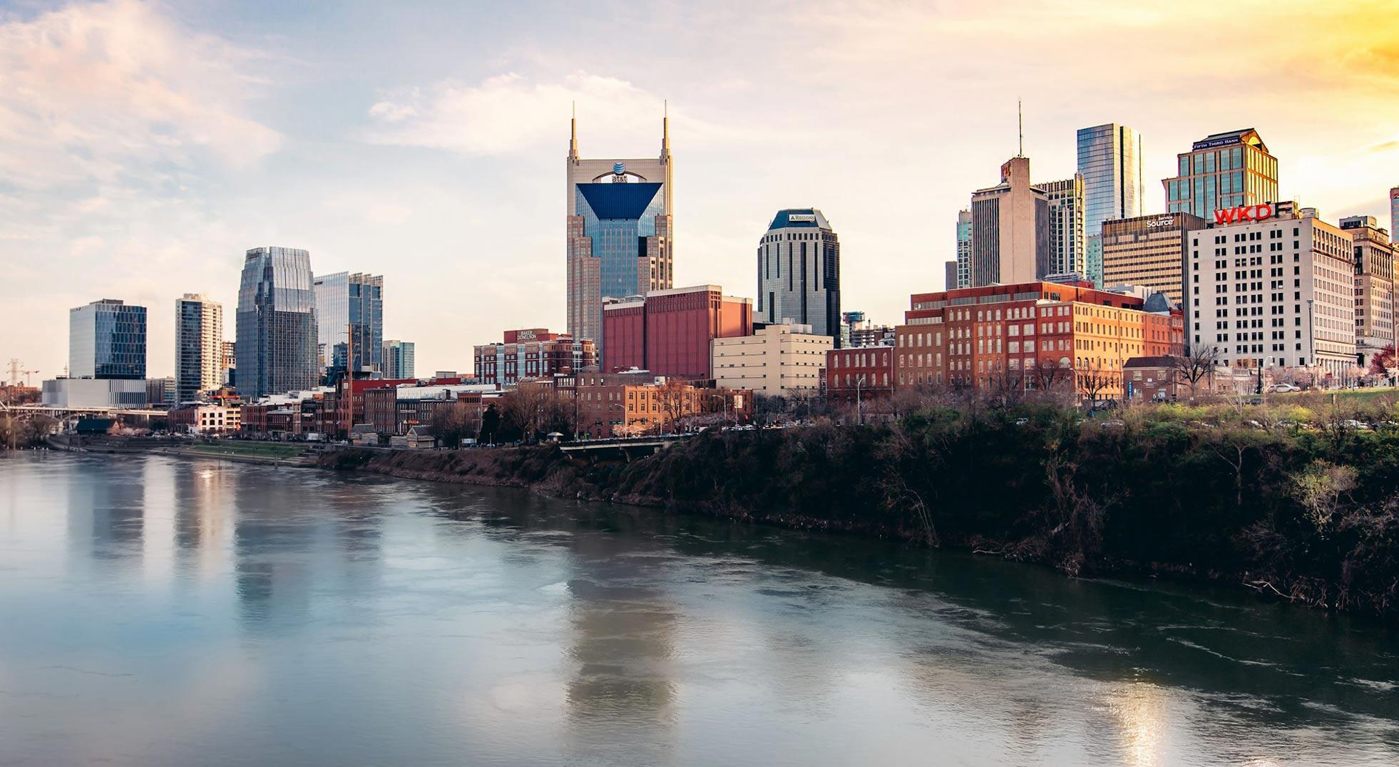 Location of The Joseph Hotel, Nashville